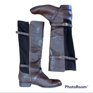 Cole Haan Brown Leather Riding Boots 8.5